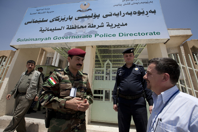 UNAMI Officers Visit Sulaimanyah
