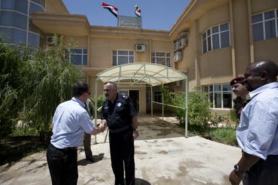 UNAMI Officers Visit Sulaimanyah