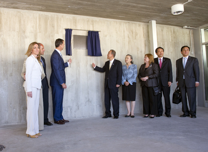 Secretary-General and Crown Prince of Spain Inaugurate UN Support Base in Valencia