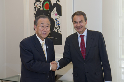 Secretary-General Meets Prime Minister of Spain