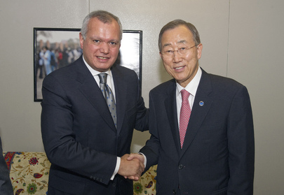 Secretary-General Meets Egyptian Foreign Minister