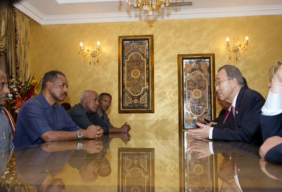 Secretary-General Meets President of Eritrea