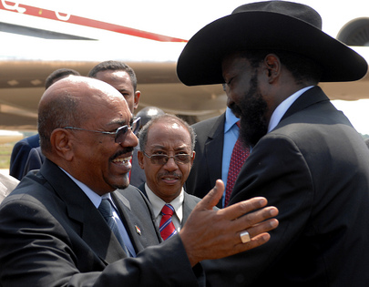 Presidents of Sudan and South Sudan Meet at Independence Ceremony
