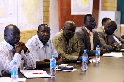 South Sudan Special Representative Meets Civil Society Leaders