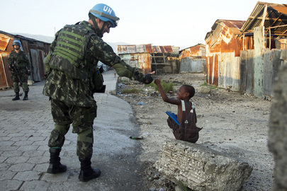 MINUSTAH Conducts Security Operation in Port-au-Prince