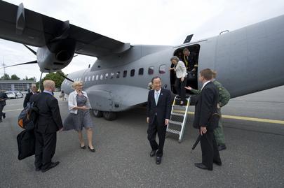 Secretary-General Visits Finland