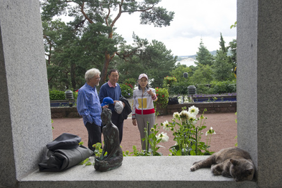 Secretary-General Hosted by Finnish President at Her Summer Residence