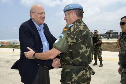 Lebanese Prime Minister Visits UNIFIL