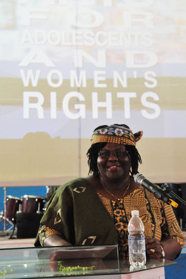 Arts for Adolescents and Women's Rights Competition in Liberia
