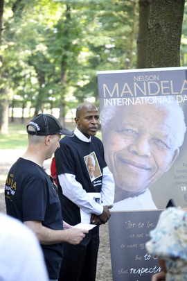 """Take Action! Inspire Change"" Campaign Marks Mandela Day"