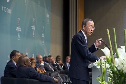 Secretary-General Addresses WTO Meeting