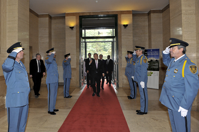 Secretary-General Arrives at UNOG