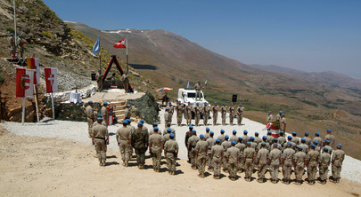 UNDOF Memorial in Golan Heights