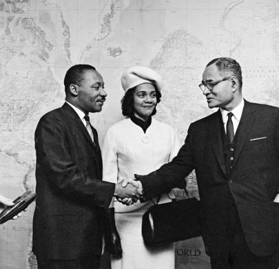 Dr. Martin Luther King Visits UN Headquarters