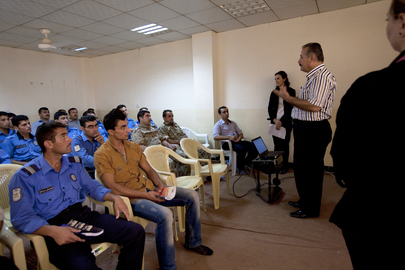 UNAMI Human Rights Officers Train Iraqi Security Forces