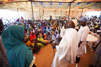 UNAMID Organizes DDR Outreach Activity in North Darfur