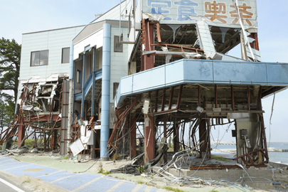 Port in Soma, Japan, Devastated by Tsunami