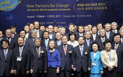 Secretary-General Attends Academic Impact Forum in Seoul