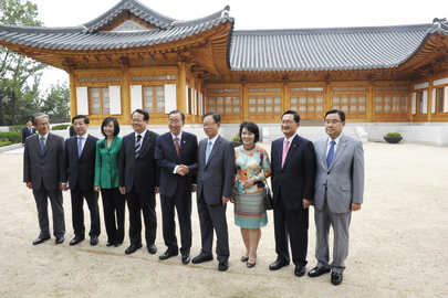Secretary-General Meets Speaker of Korean National Assembly