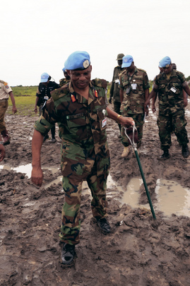 UN Force Commander Assesses Security in Pibor, South Sudan
