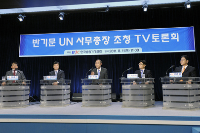 Secretary-General on Live TV Panel in Seoul