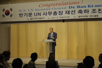 Secretary-General Meets Diplomatic Corps in Seoul