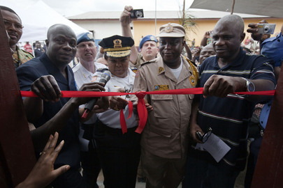 UN Mission Builds New Courthouses, Police Stations, in Liberia
