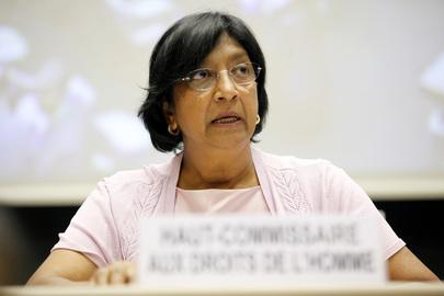 Navi Pillay, do ACNUDH (UN Photo)