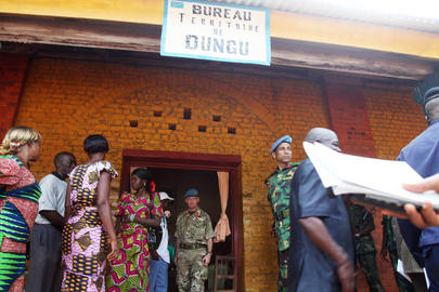 MONUSCO Deputy Commander Visits Dungu District Chief