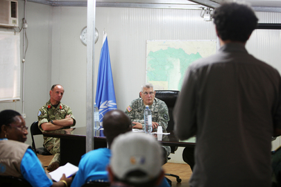 MONUSCO and UN Agencies in DRC Meet U.S. Africa Commander