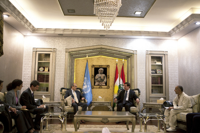 Special Representative for Iraq Meets Speaker of Kurdish Parliament