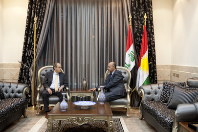 Special Representative for Iraq Meets Head of Kurdish Regional Government