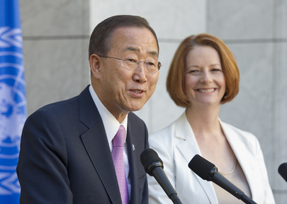 Secretary-General and Australian Prime Minister Brief Press