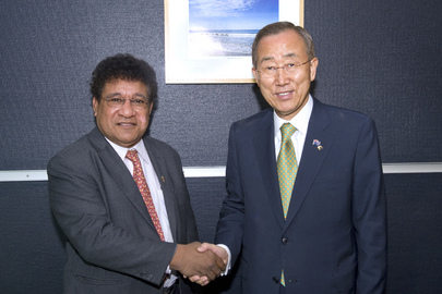 Secretary-General Meets Foreign Minister of Papua New Guinea