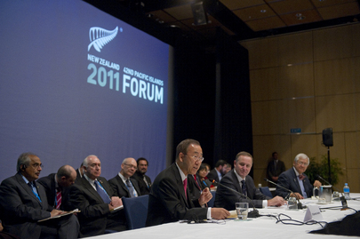 Secretary-General Addresses Pacific Forum in Auckland