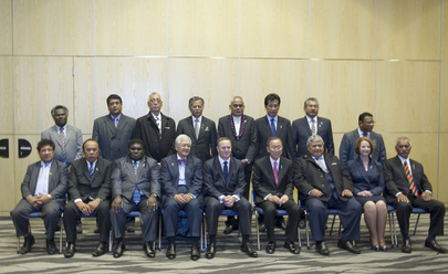 Secretary-General and Leaders at Pacific Forum in Auckland