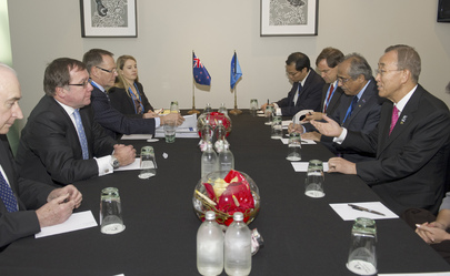 Secretary-General Meets Foreign Minister of New Zealand