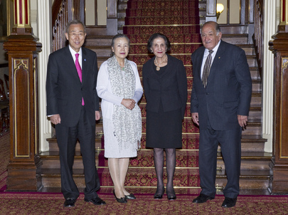 Secretary-General Meets New South Wales Governor and Former Sydney Mayor