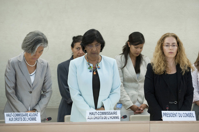 Human Rights Council Mourns Deceased Colleague