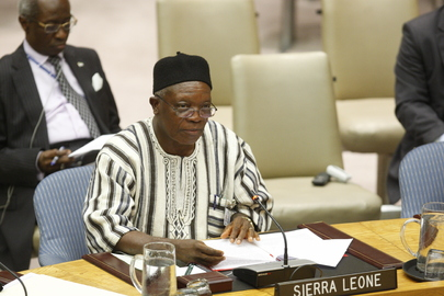 Council Meets on Sierra Leone