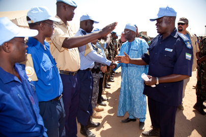 UNAMID Joint Special Representative Visits Tawila Camp
