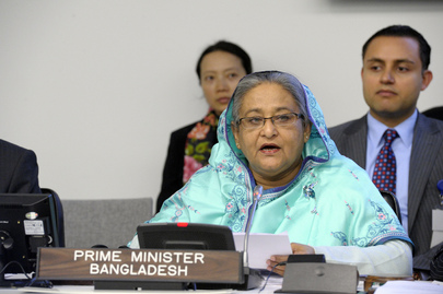 Prime Minister of Bangladesh Addresses Secretary-General's Counter-Terrorism Meeting