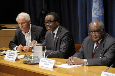 Joint Press Conference on UN Convention to Combat Desertification