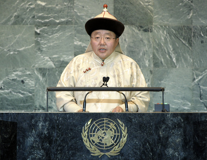President of Mongolia Addresses General Assembly