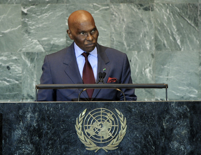 H.E. Mr.Abdoulaye Wade
