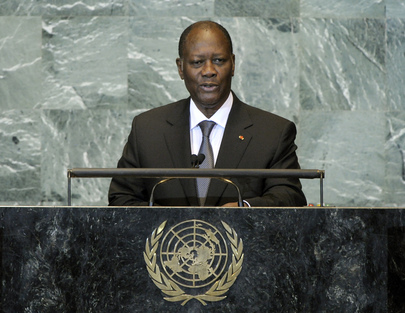President of Côte d'Ivoire Addresses General Assembly