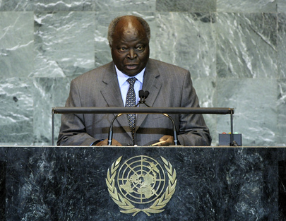 H.E. Mr.Mwai Kibaki