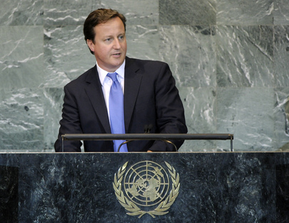 U.K. Prime Minister Addresses General Assembly