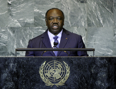 President of Gabon Addresses General Assembly