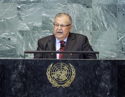 H.E. Mr.Jalal Talabani